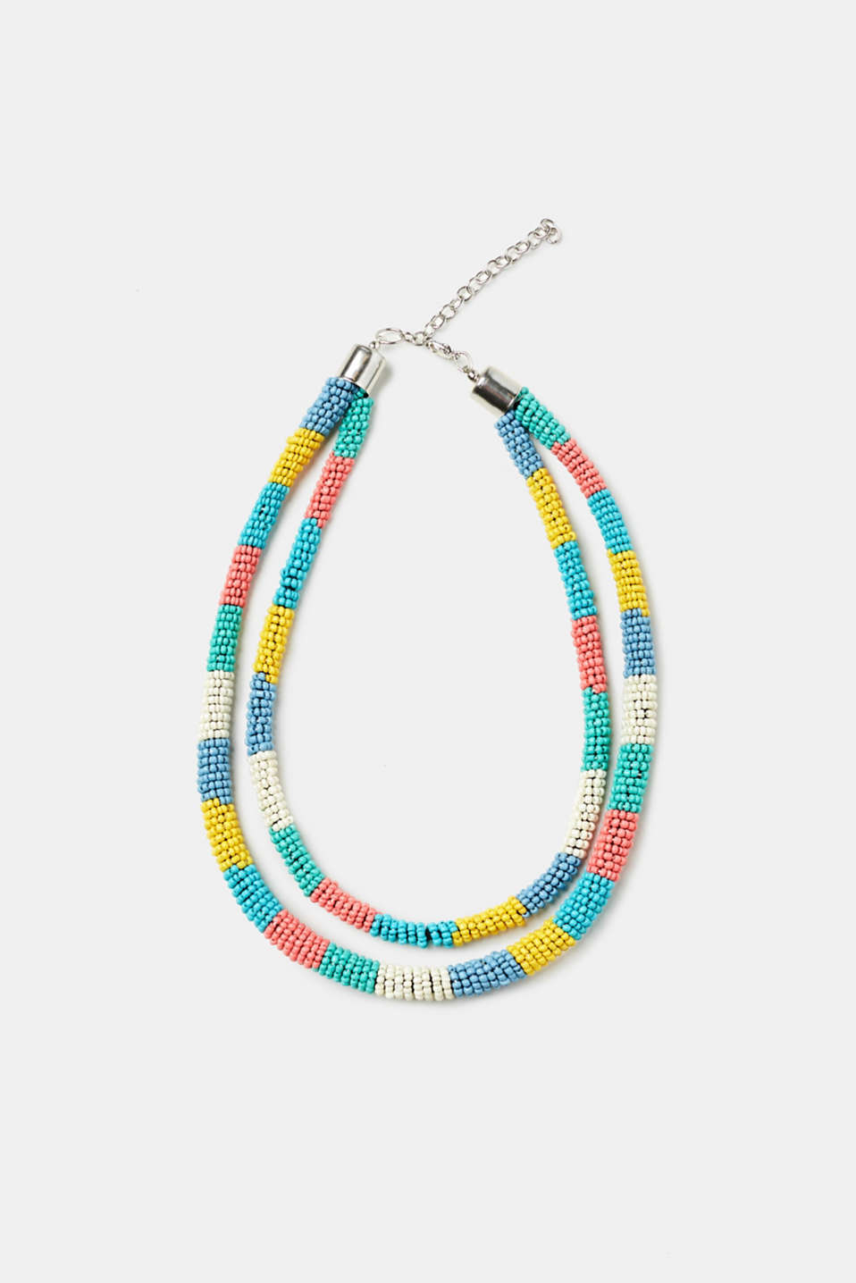 Esprit - Double-strand necklace + colourful beads