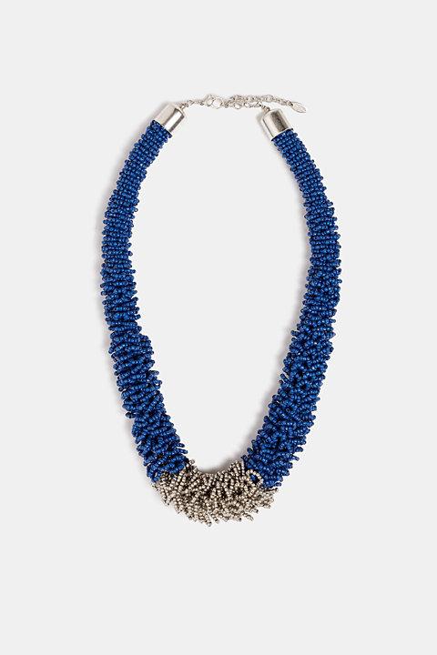Metallic statement necklace