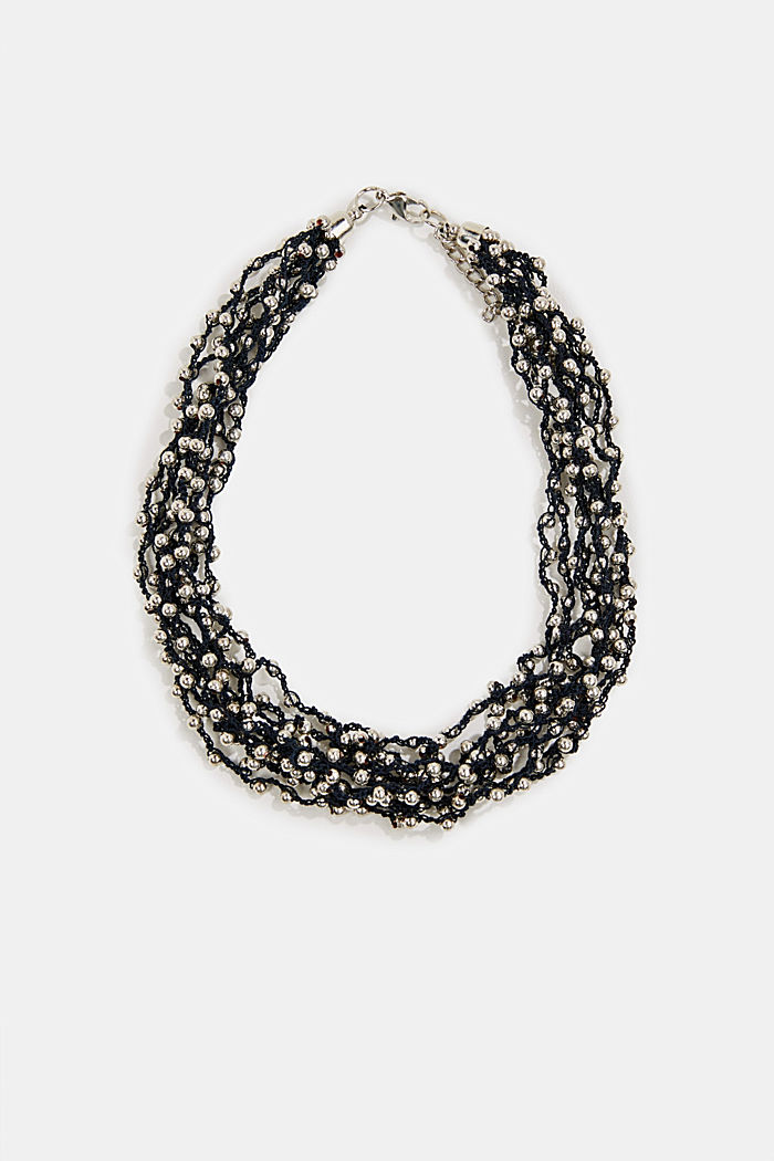 Kurze Kette mit neun Perlen-Reihen
