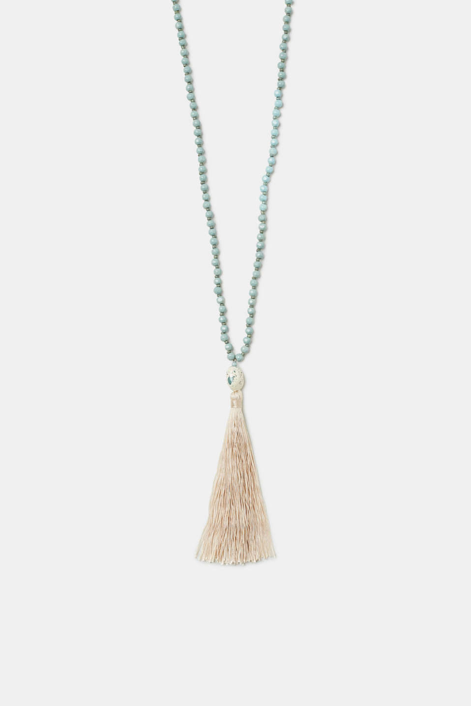 Esprit - Long necklace with stones and tassels