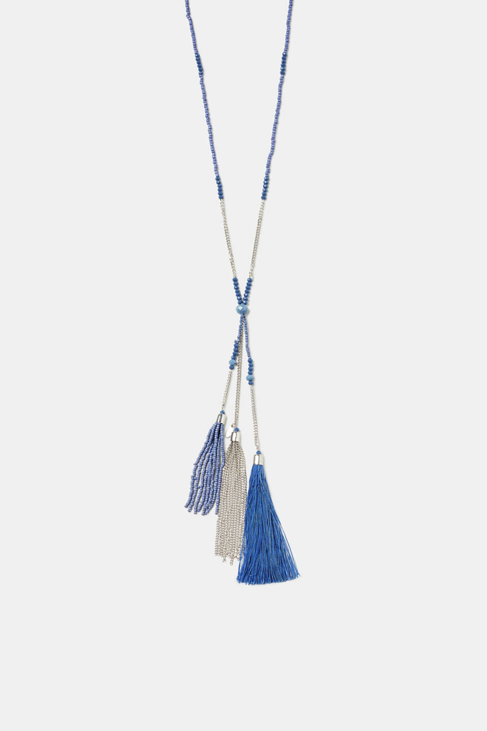 Esprit - Long pendant necklace with tassels