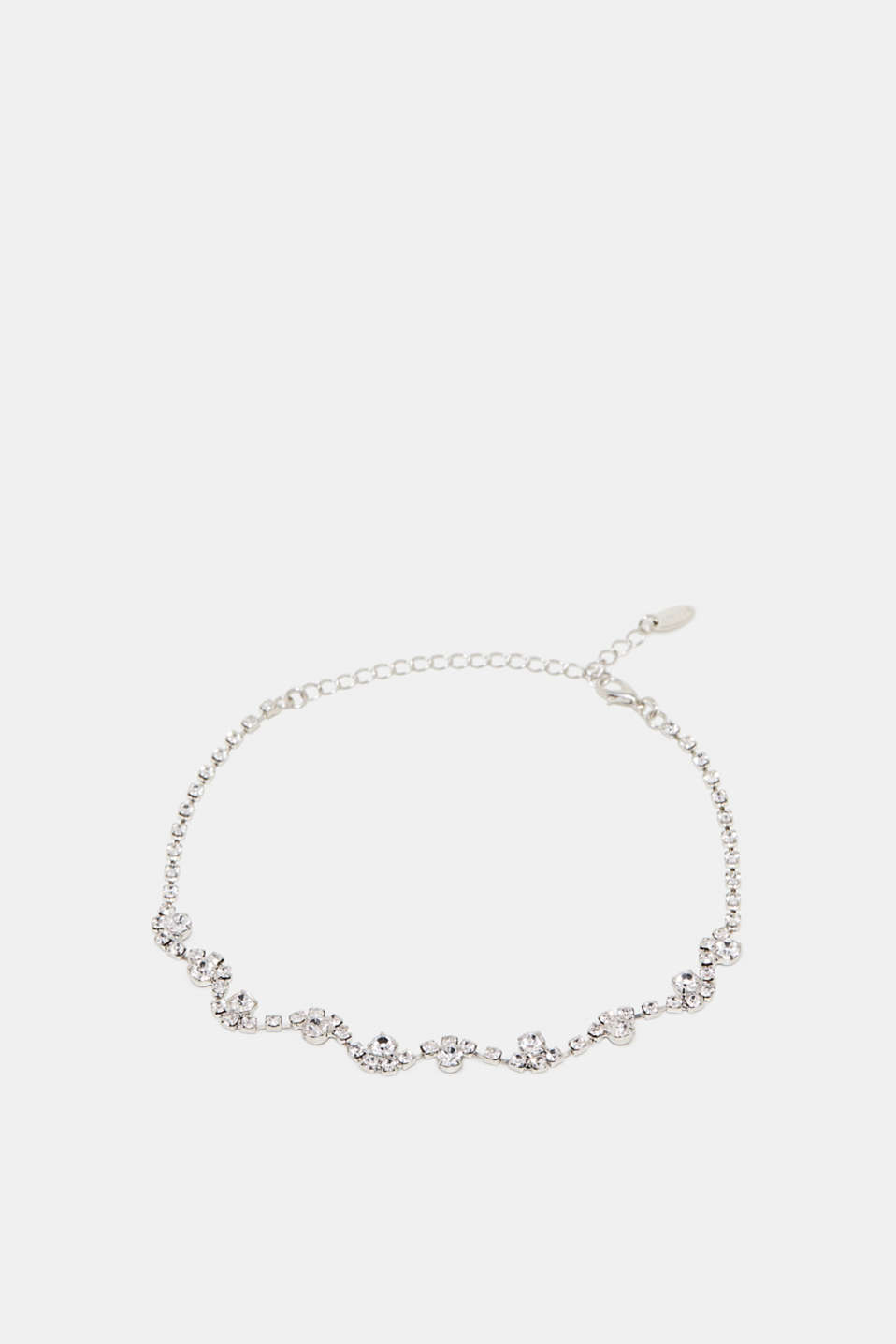 Esprit - Short necklace with rhinestones