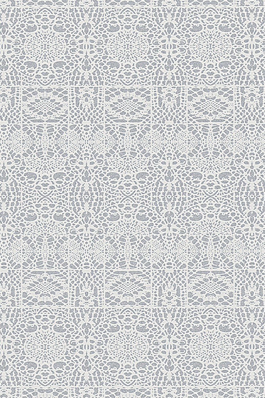 Kuitutapetti Winter Poetry Patterned
