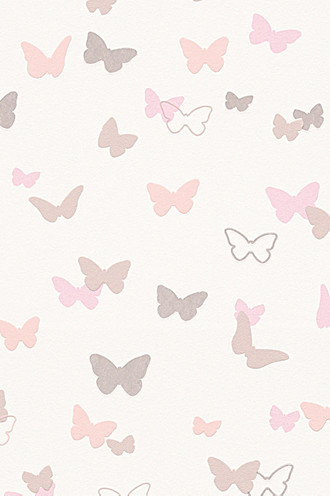 Kids wallpaper Sweet Butterfly Patterned