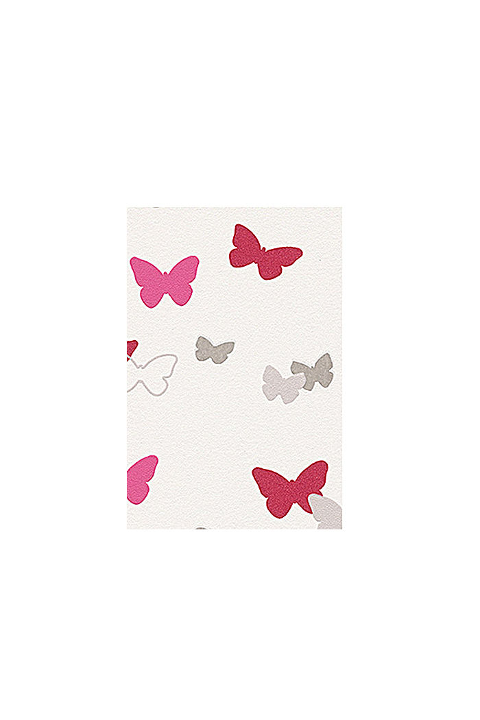 Sweet Butterfly Patterned kids wallpaper