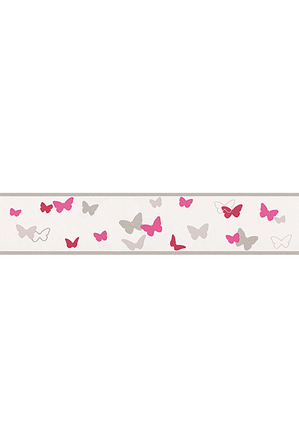 Sweet Butterfly child wallpaper border, one colour, detail image number 0
