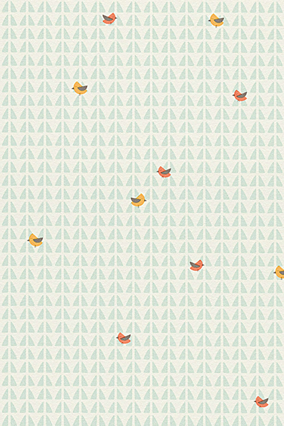 Esprit - Carta da parati High Sky Birds Patterned
