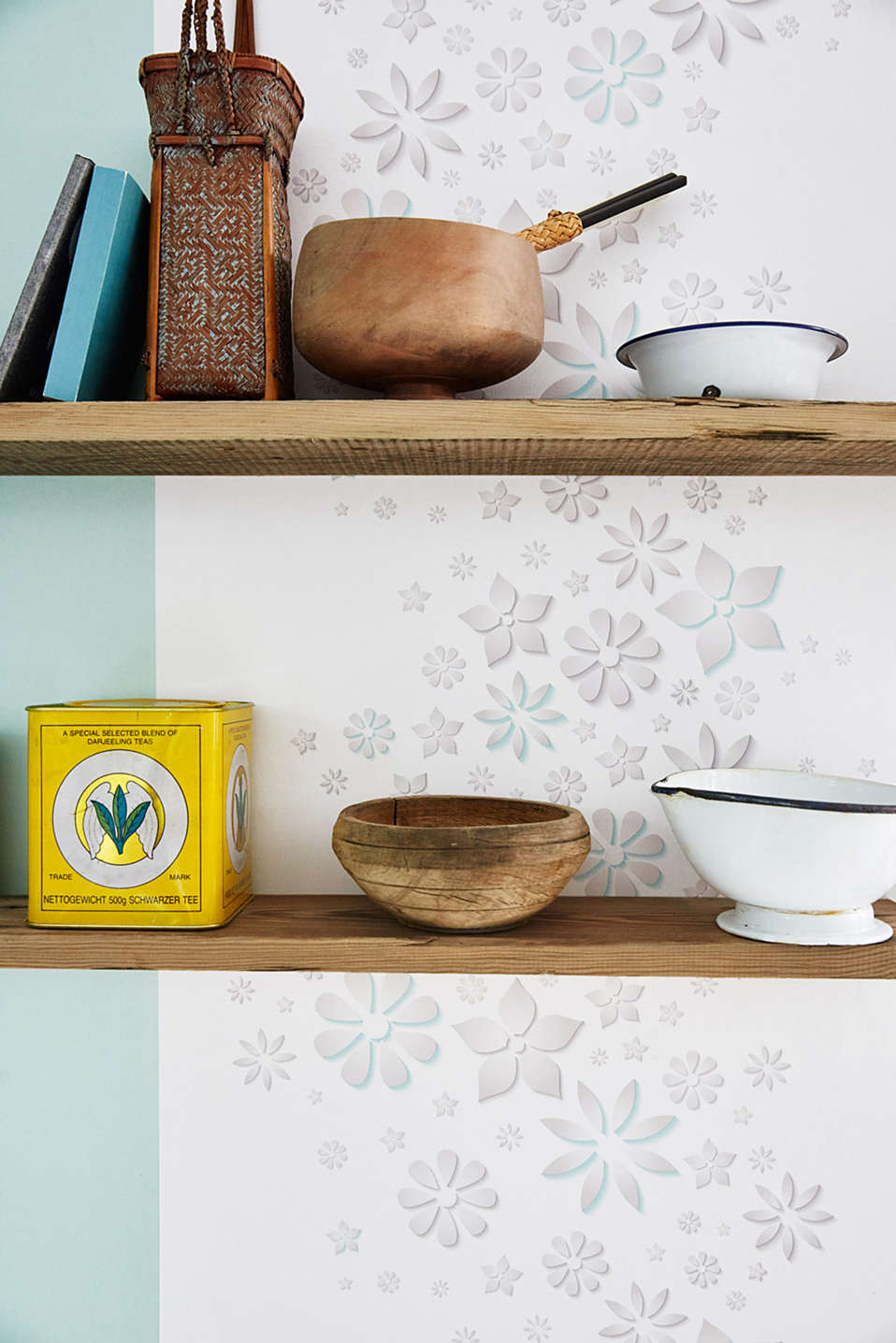 Paper wallpaper Eco Plain, one colour, detail image number 2