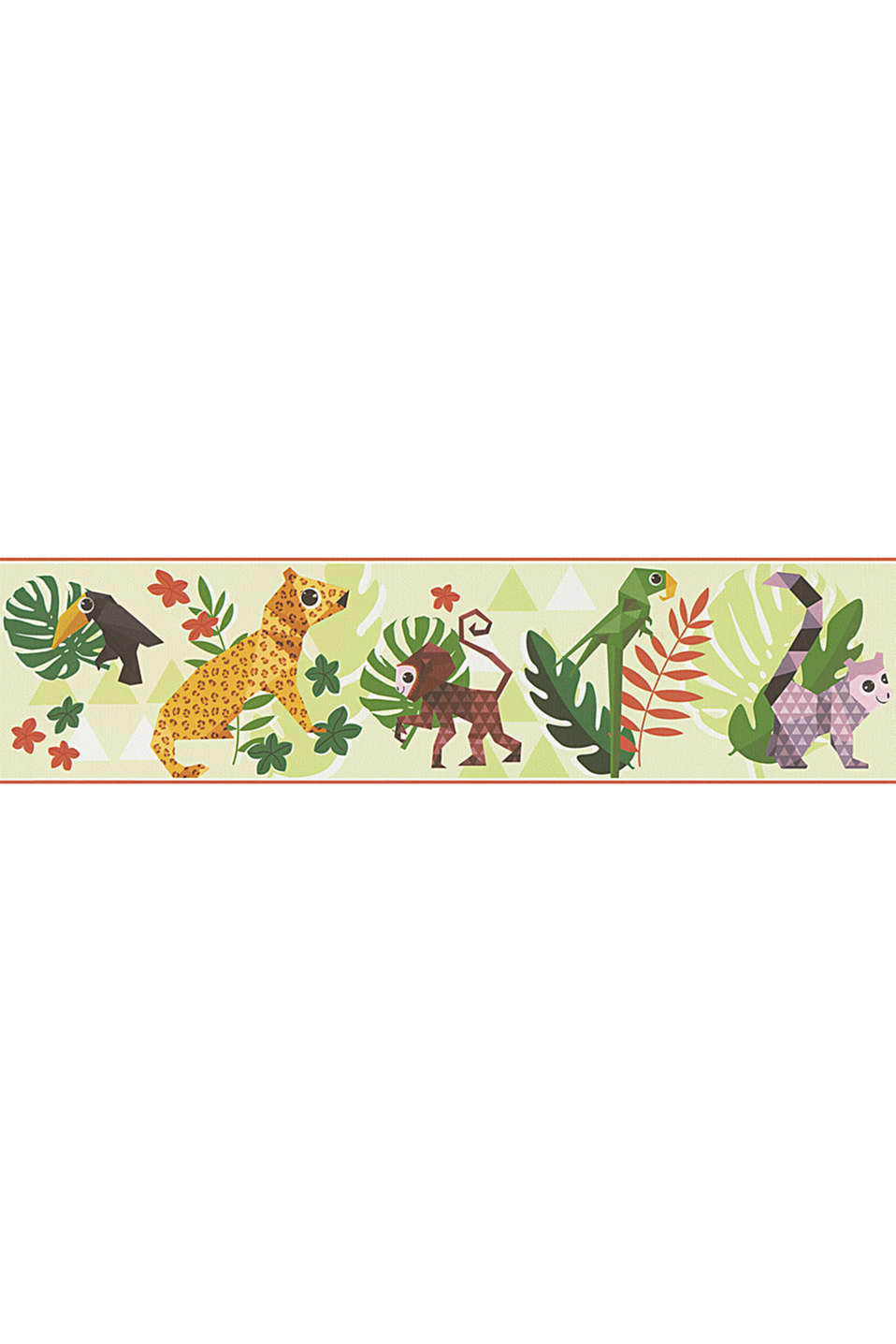Esprit - Jungle wallpaper border for kids