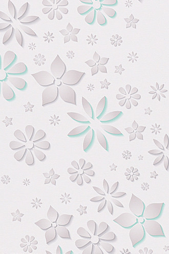 Paper wallpaper Eco Patterned