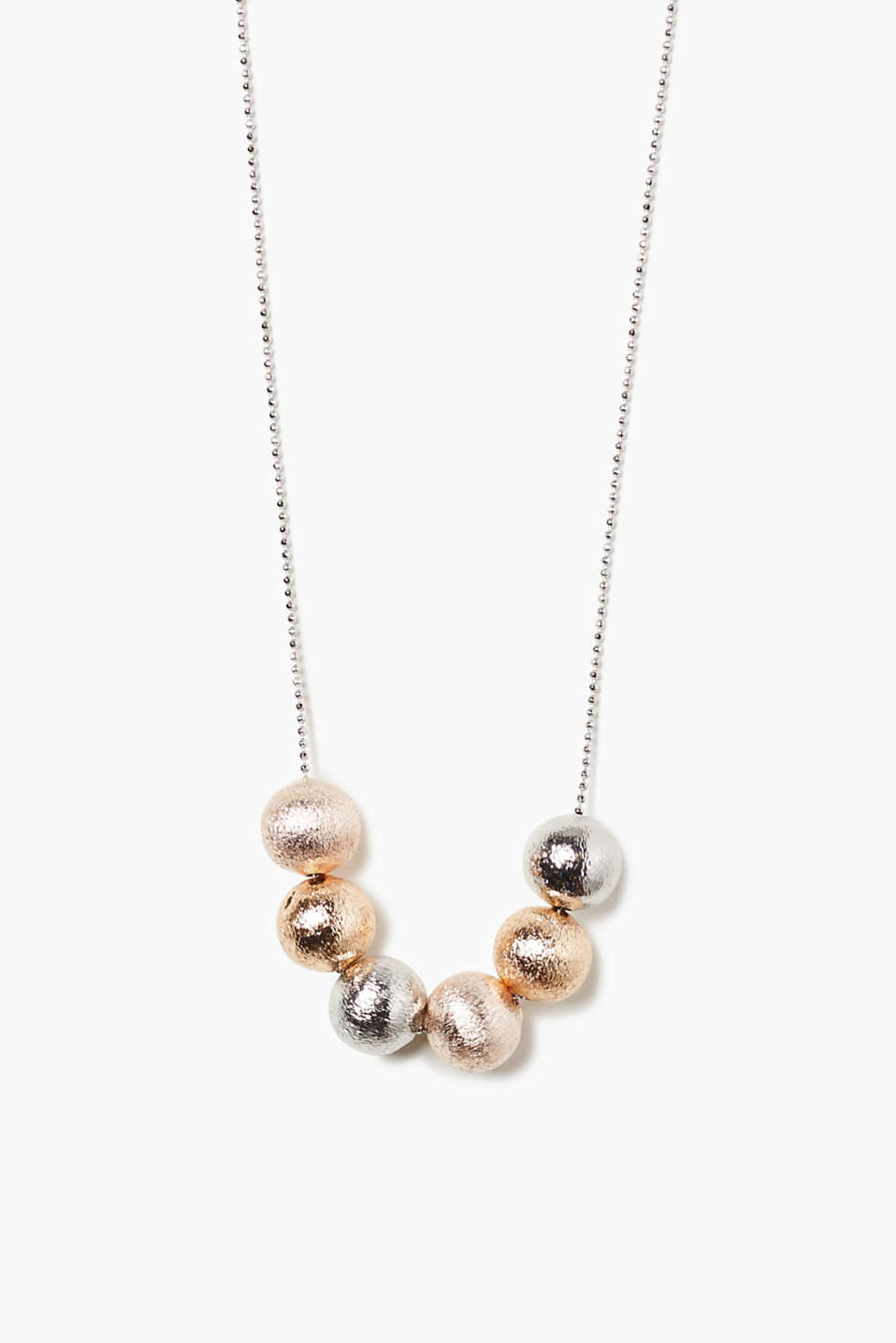 Esprit - Short necklace with balls