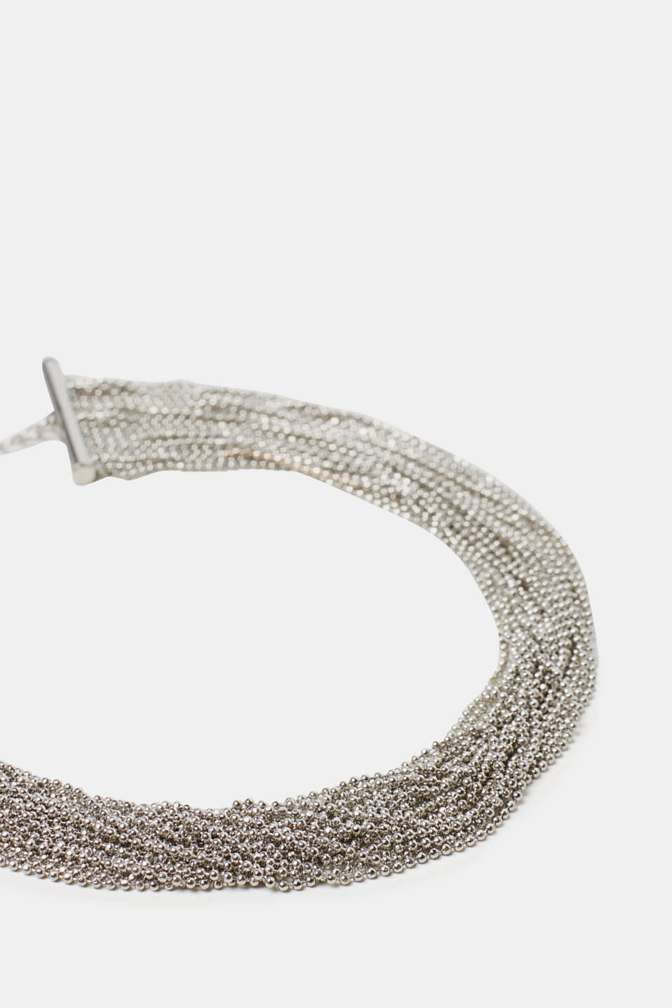 Stylish metal choker