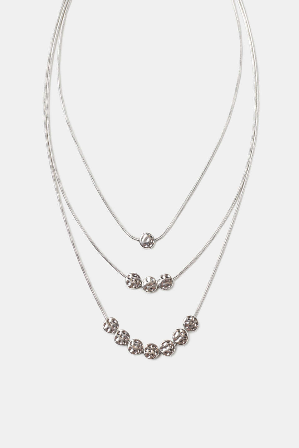 Esprit - Multi-strand metal necklace