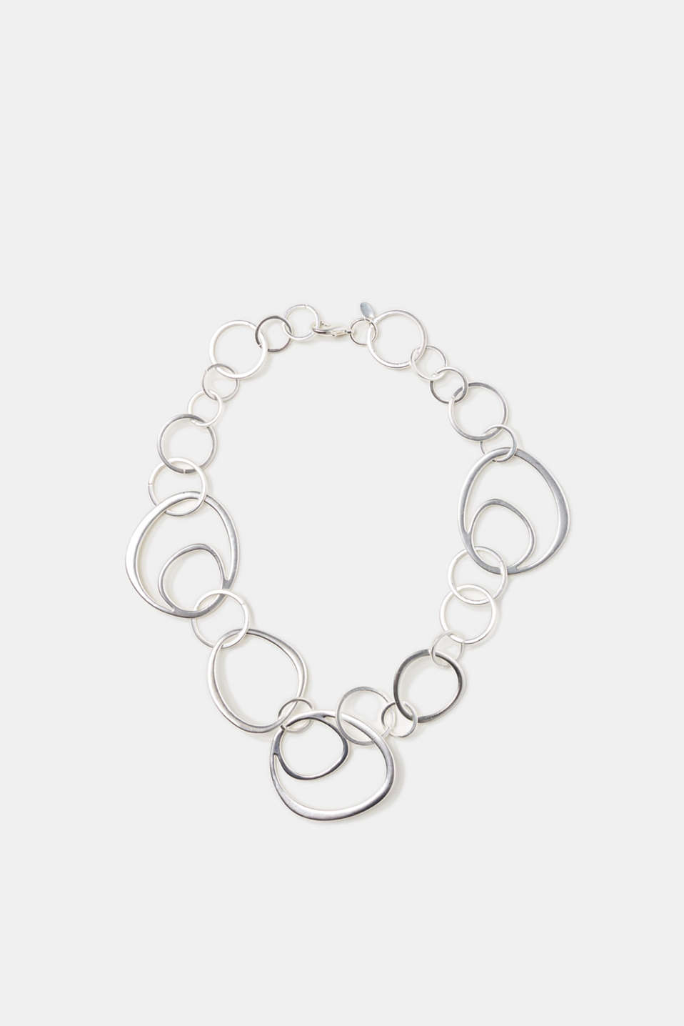 Esprit - Short necklace with matte rings