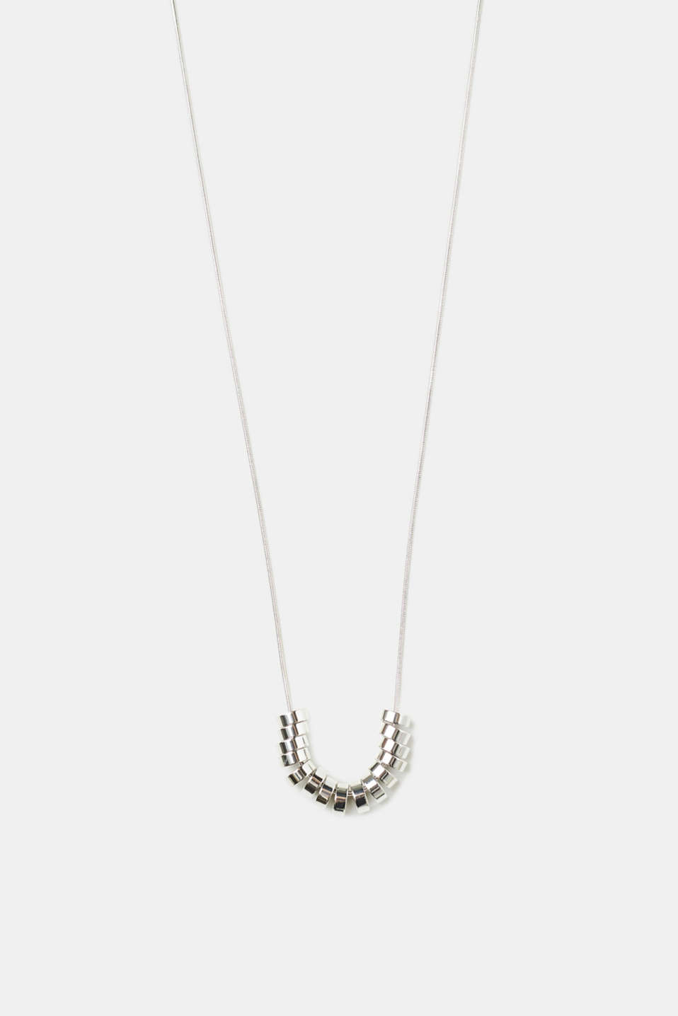 Esprit - Necklace with ring pendants, metal