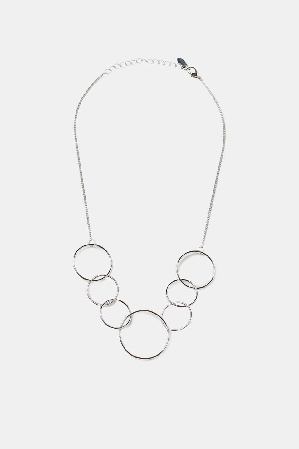 Esprit - Short necklace with filigree rings