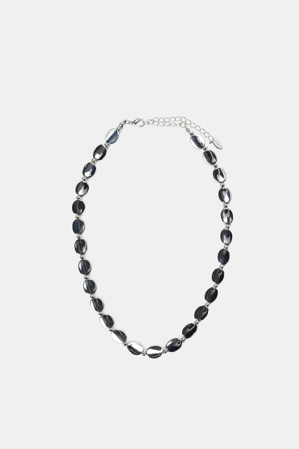 Esprit - Necklace made of highly polished metal links