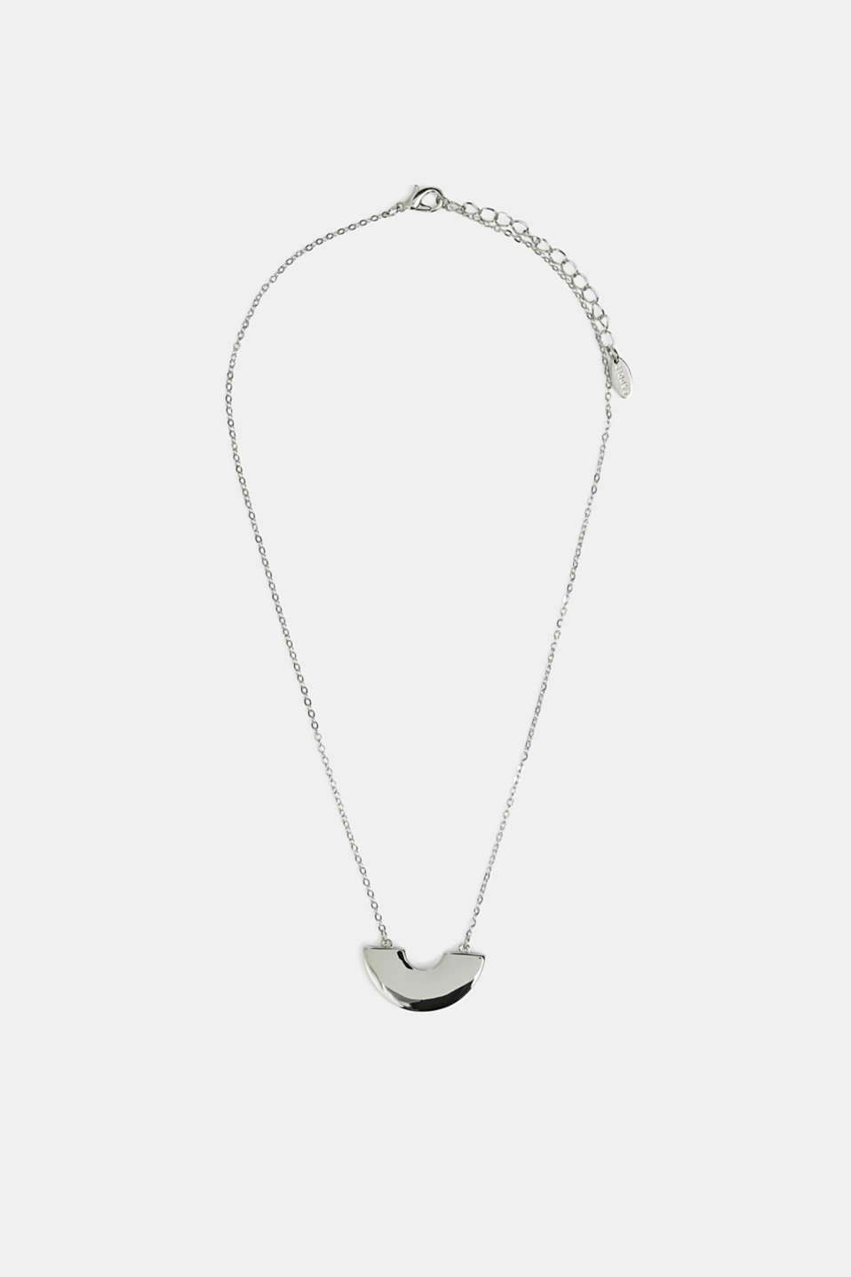 Necklace with a pendant, SILVER, detail image number 0