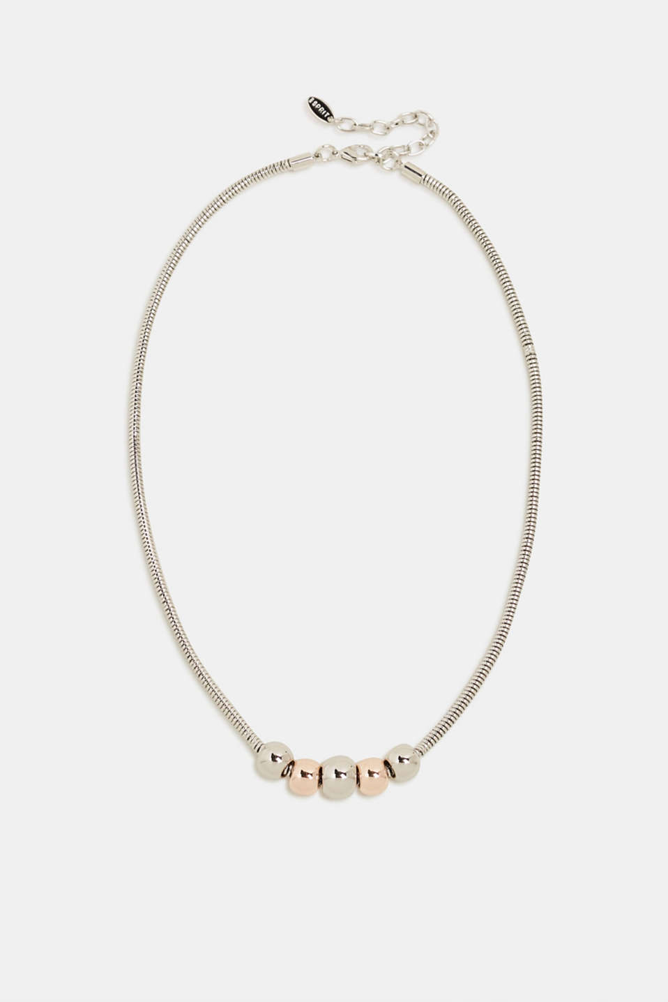 Esprit - Necklace with metal orbs