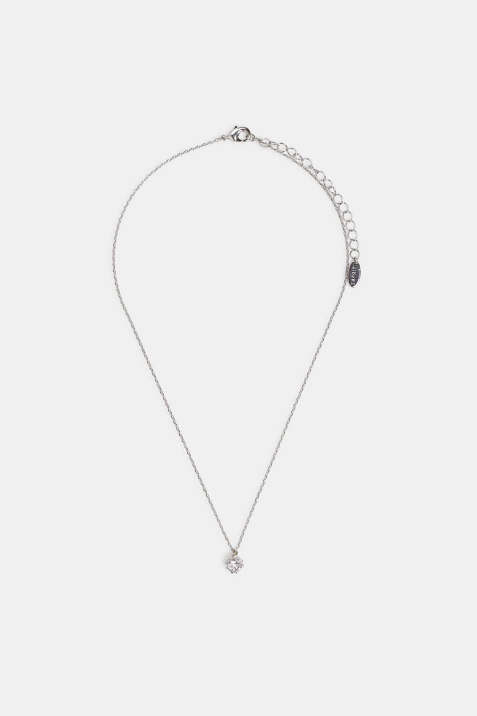 Esprit - Necklace with facet-cut pendant