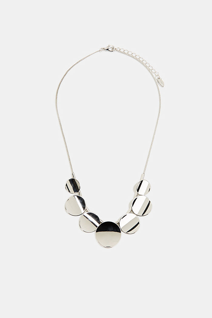 Necklace with a little disc pendant