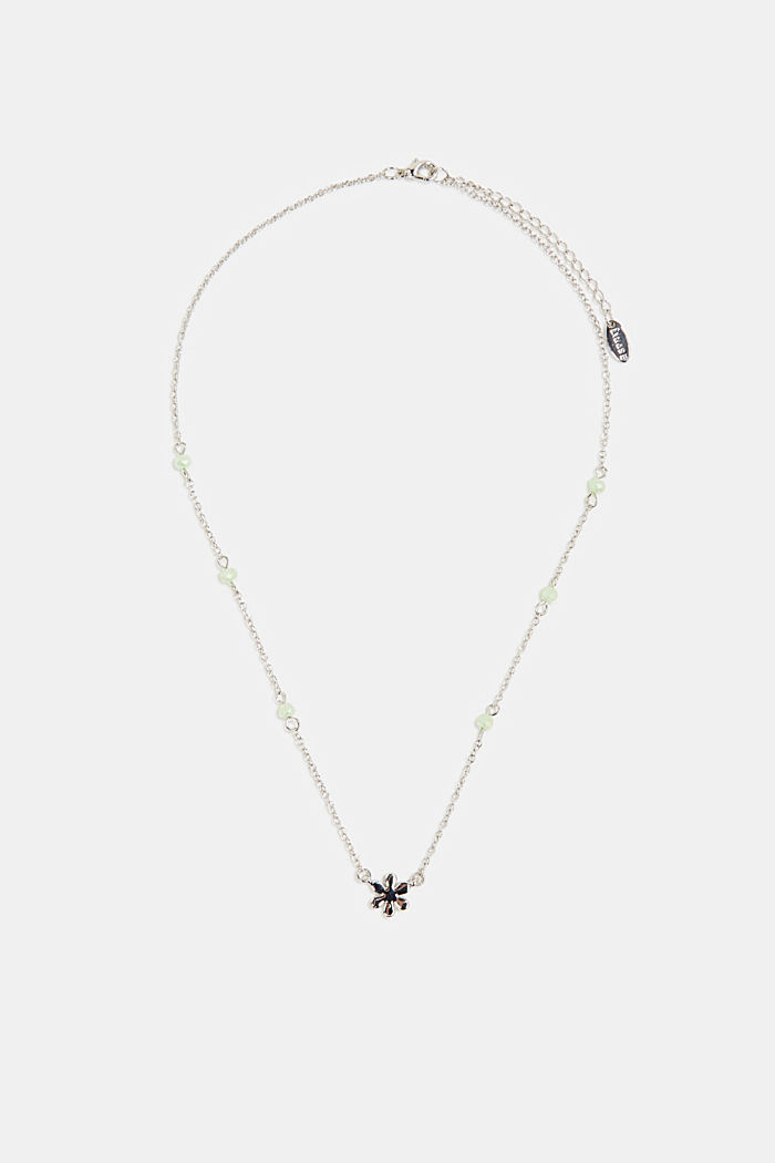 Necklace with a floral pendant