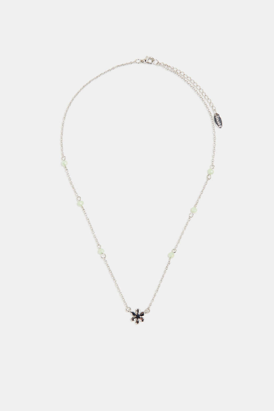 Esprit - Necklace with a floral pendant