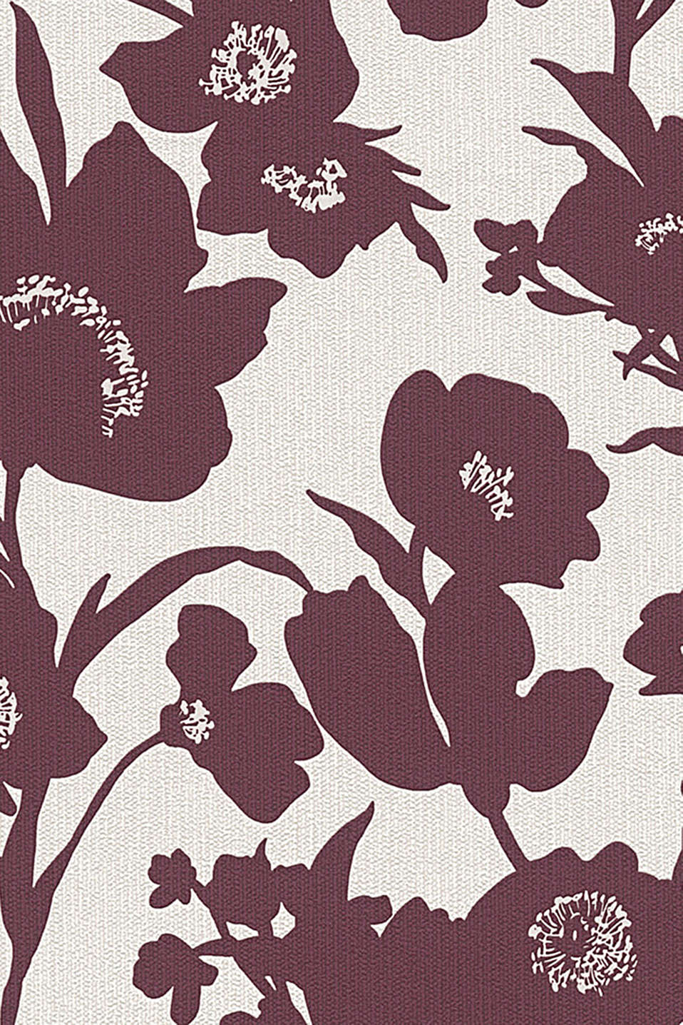Esprit - Non-woven wallpaper in a floral design