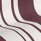 Non-woven striped wallpaper, BURGUNDY, swatch