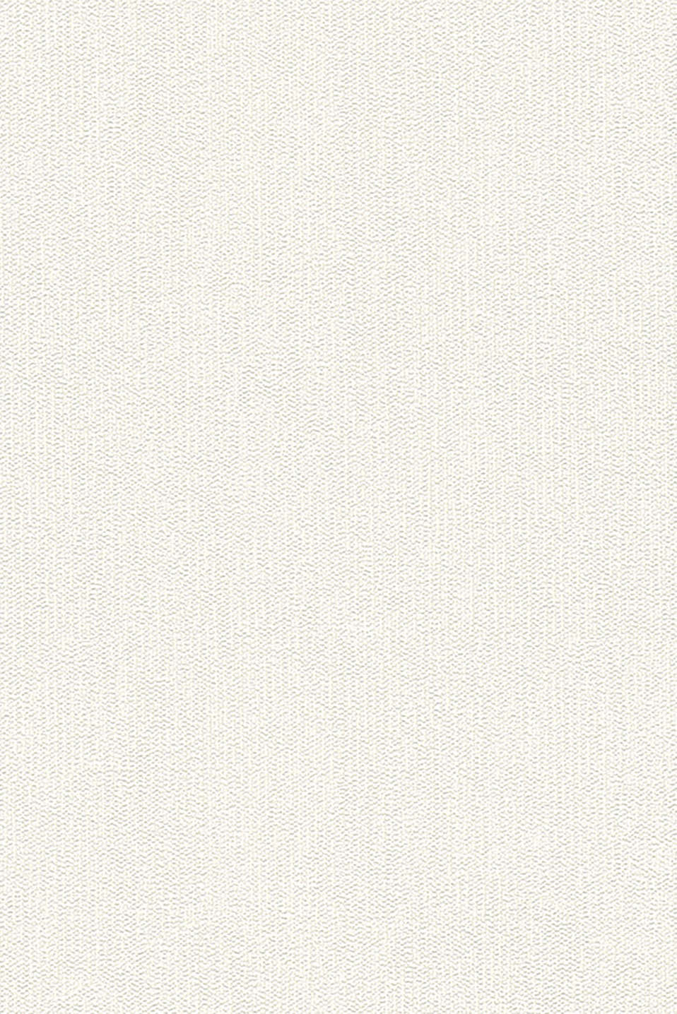 Plain textured non-woven wallpaper, WHITE, detail image number 0