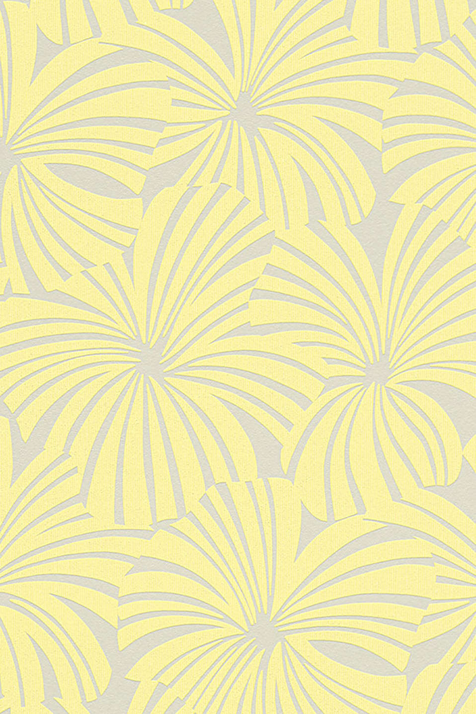 Esprit - Palm pattern non-woven wallpaper