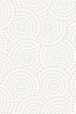 Non-woven geometric pattern wallpaper, GREY, detail