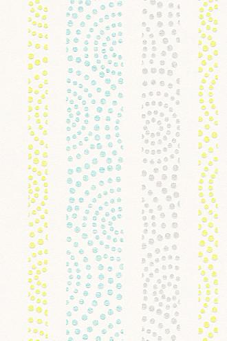 Non-woven polka dot pattern wallpaper