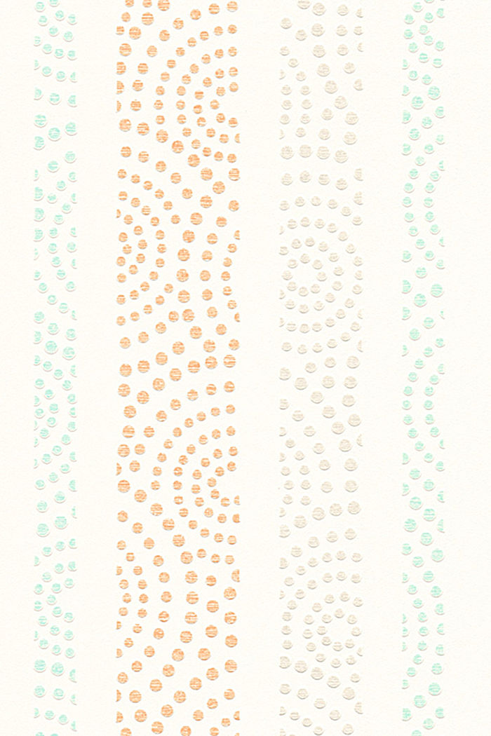 Vliestapete mit Tupfen-Muster
