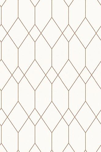 Wallpaper with geometric pattern