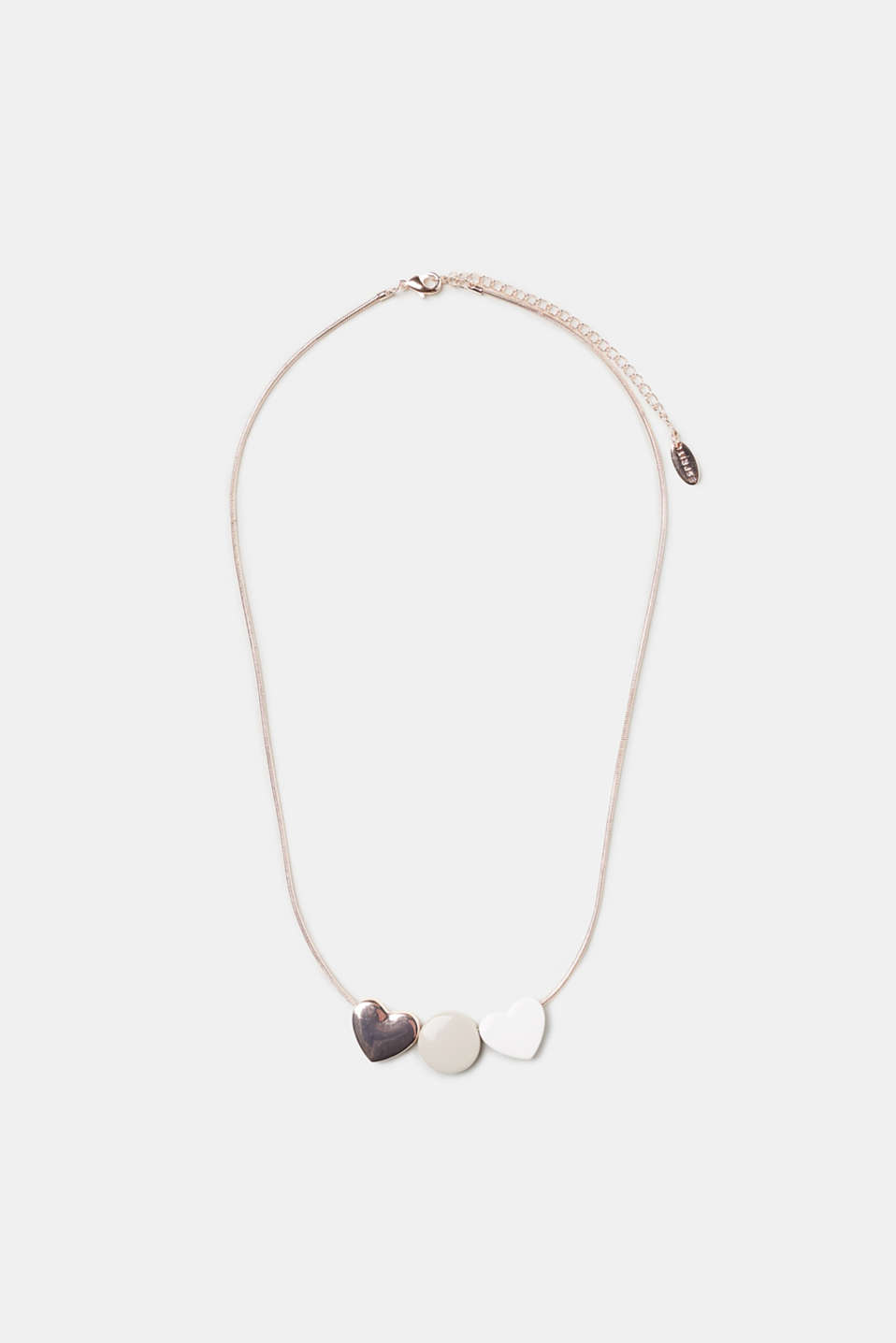 Esprit - Necklace with heart pendants