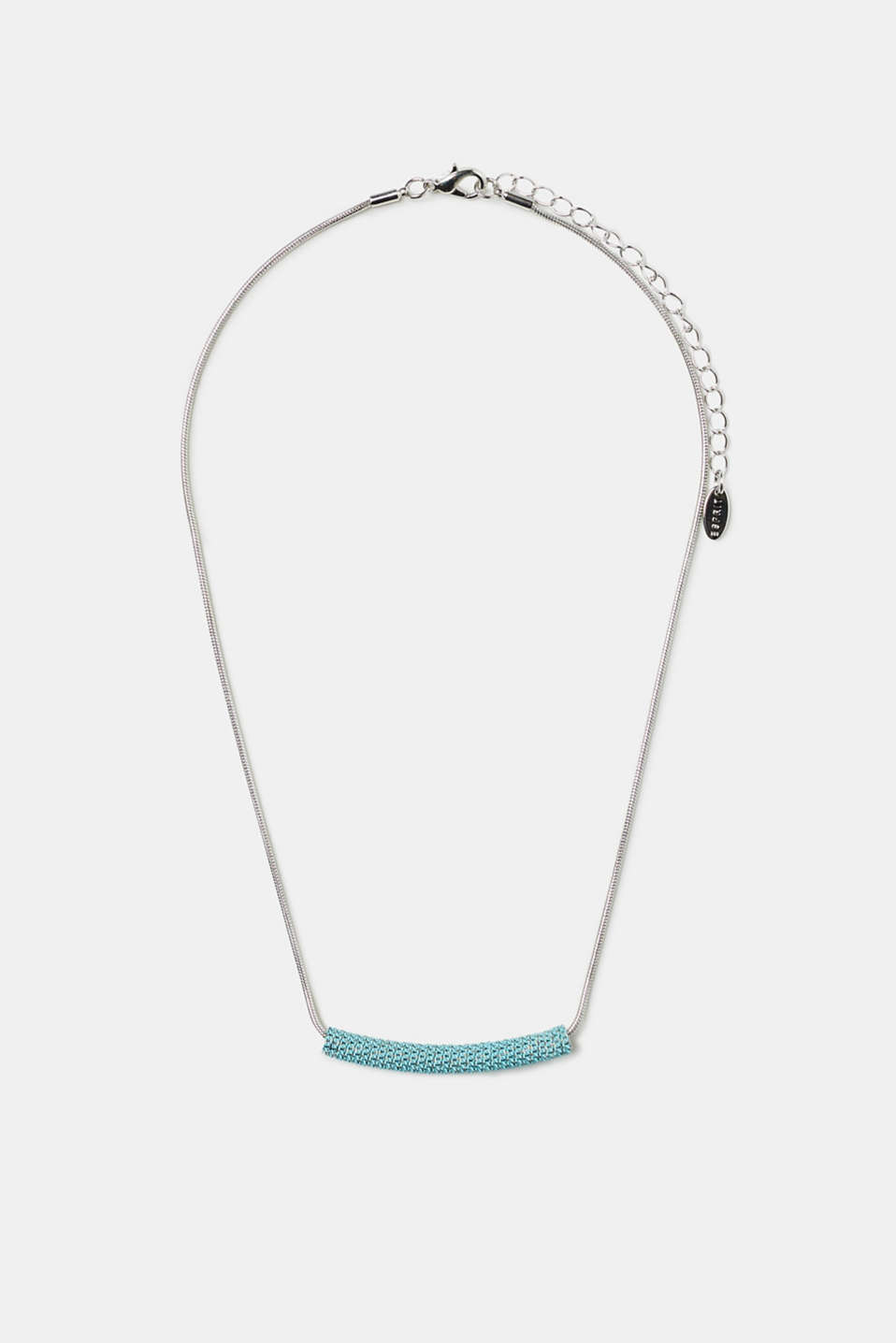Esprit - Short tube necklace with bar-shaped beads