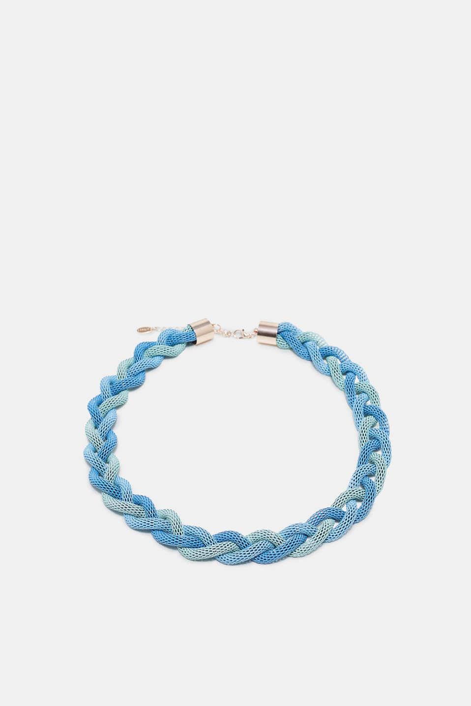 Esprit - Braided metal necklace