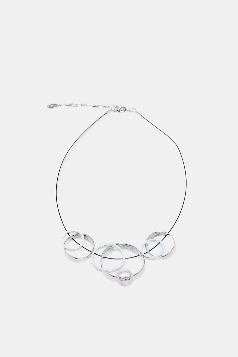 Esprit - Necklace with metal rings