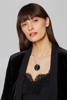 Esprit - Kort ormkedja med Yin Yang-hänge i Esprits Online-Shop 0b404ab94bf70