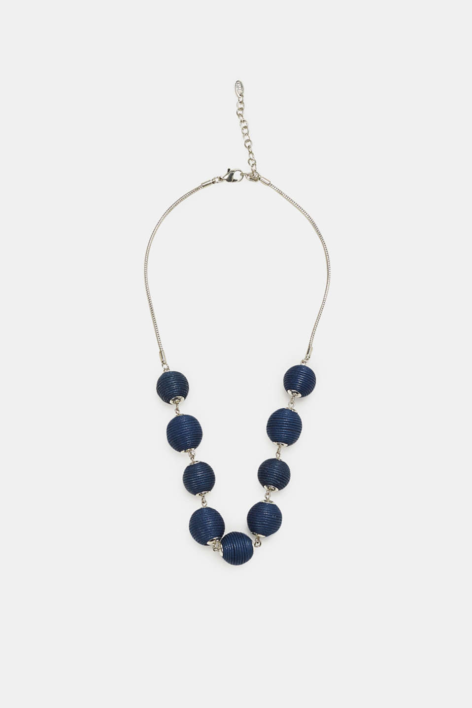 Esprit - Necklace with covered beads