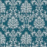 Patterned non-woven textile wallpaper, one colour, swatch