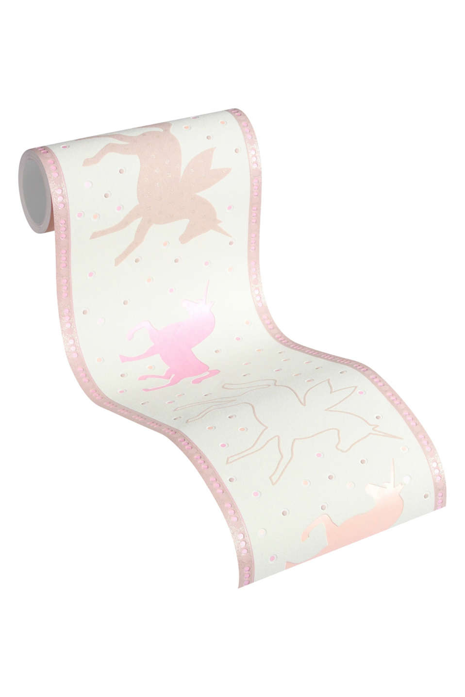 UNICORNS collection - adorable unicorn motifs are perfect for a girls room.