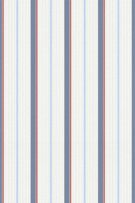 Striped vlies wallpaper, one colour, detail