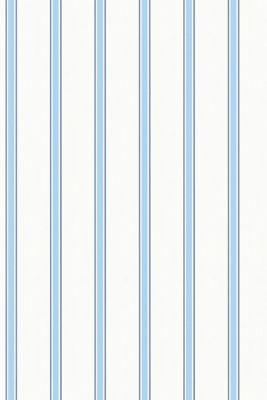Nautical stripe vlies wallpaper, one colour, detail