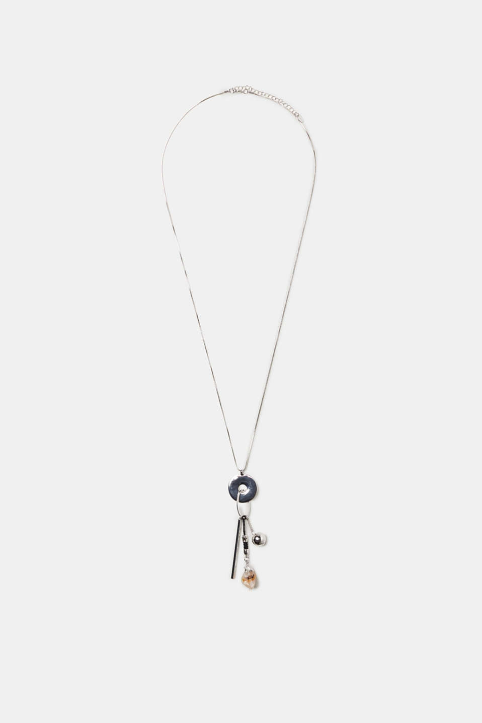 Esprit - Long necklace with exciting pendants