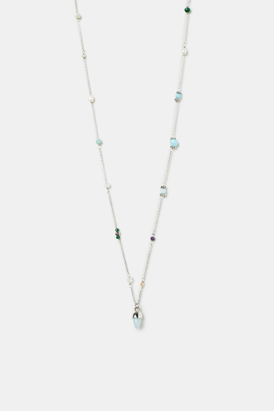 Esprit - Necklace with set beads