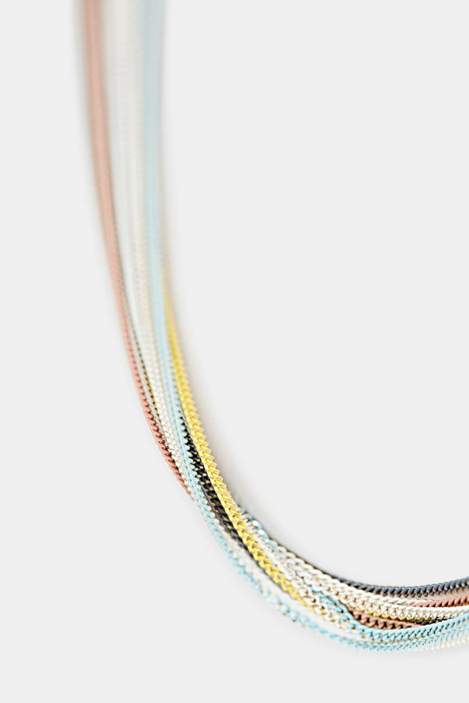 Multi-strand multi-coloured link chain, 1COLOR, detail image number 1