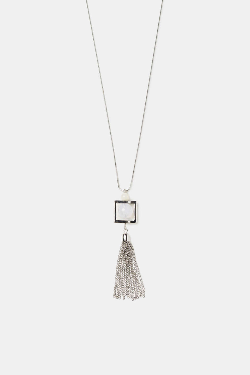 Esprit - Necklace with a tassel pendant