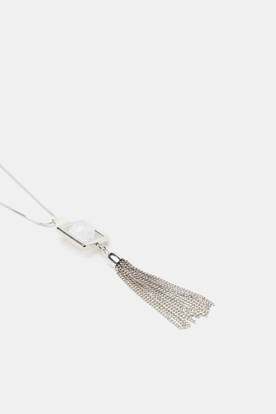 Necklace with a tassel pendant